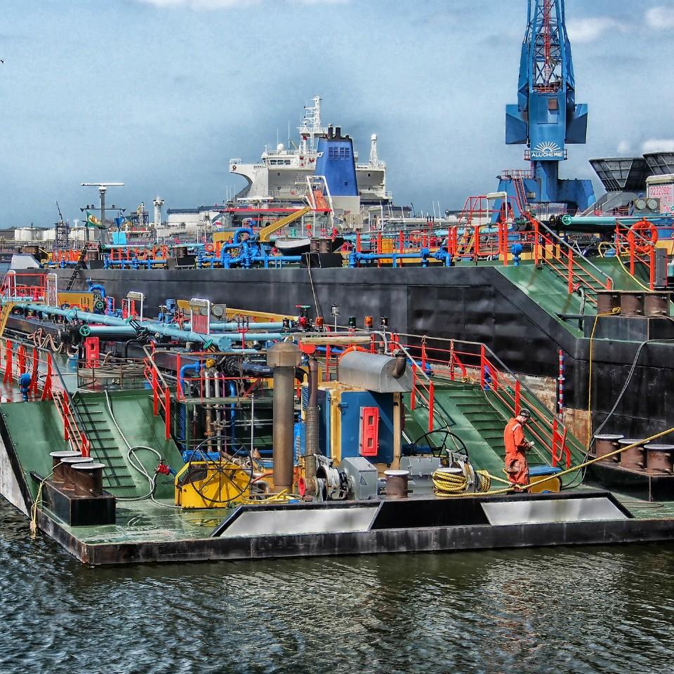 Nederland - Haven van Rotterdam