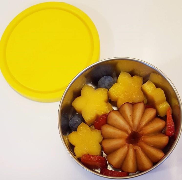 Bloemetjes in de snackbox
