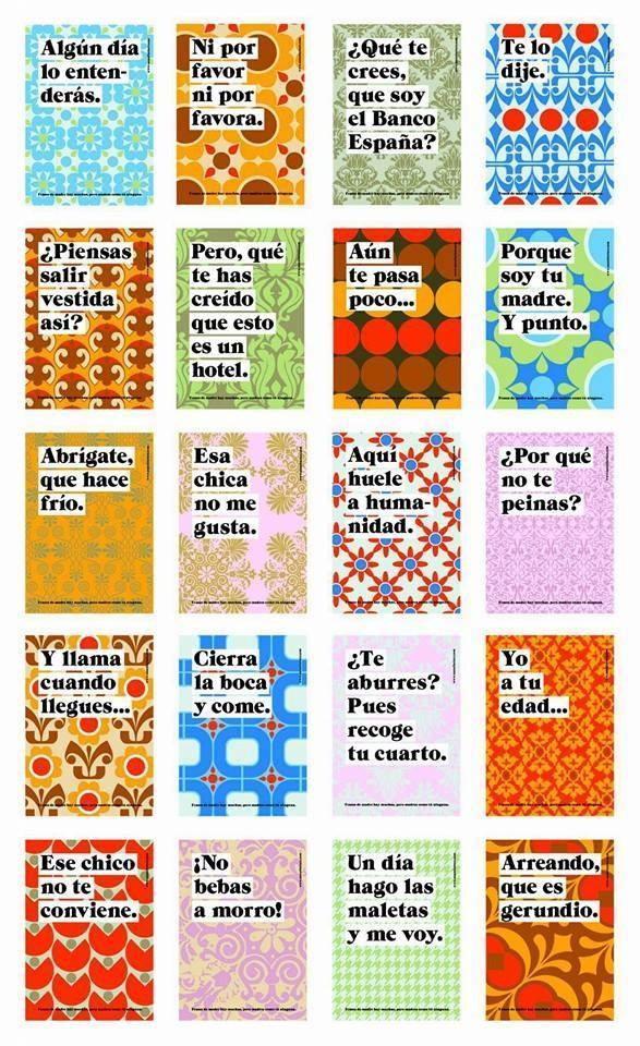 Frases típicas de mamás :)