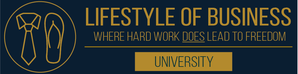 Lifestyle Of Business University logo