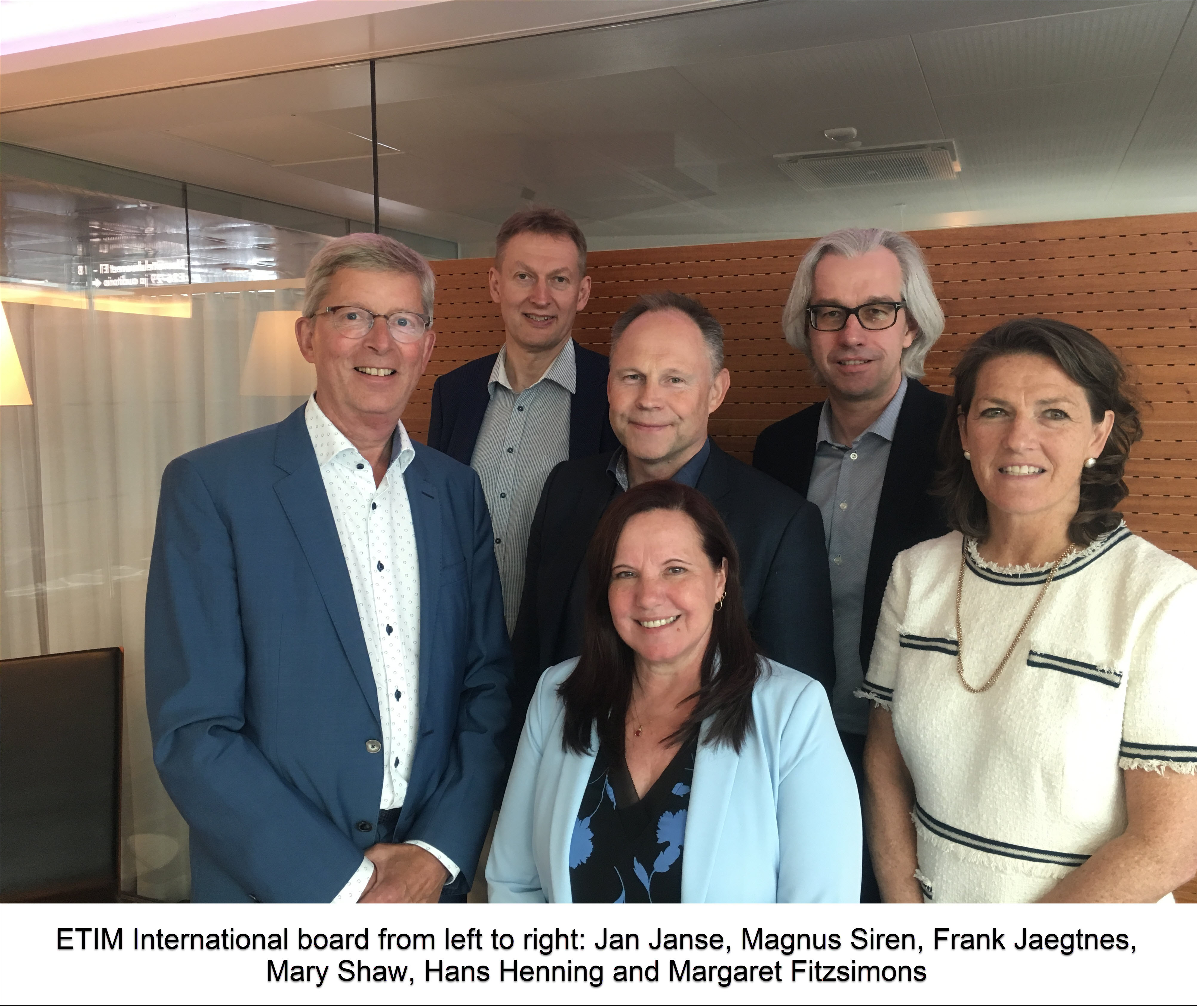 Changes at the Board of ETIM International