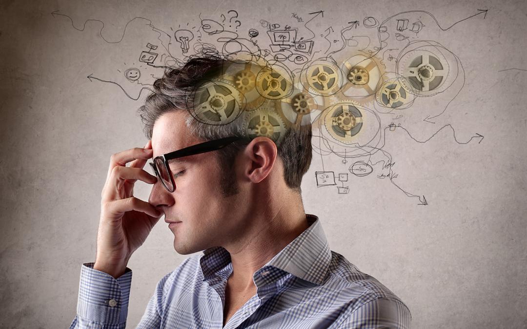Hersenen versus geest verklaard als proces versus inhoud