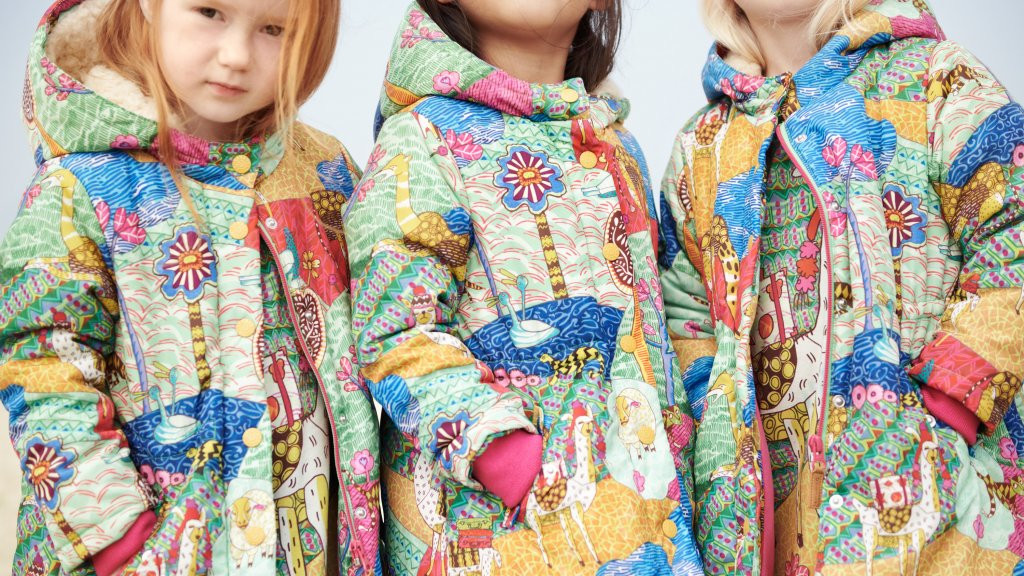 Herfst - en winterkleding gemaakt van gerecyclede plastic flessen