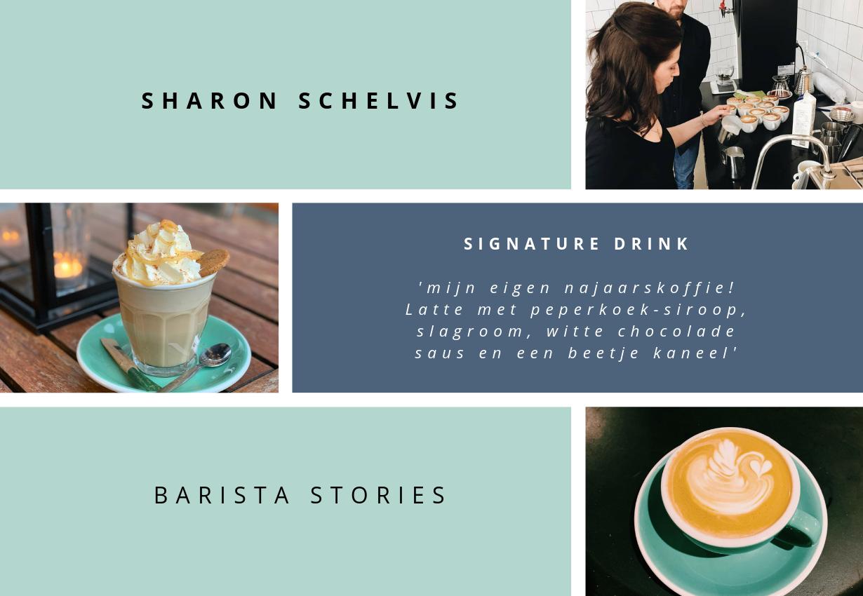 BARISTA STORIES - Sharon Schelvis