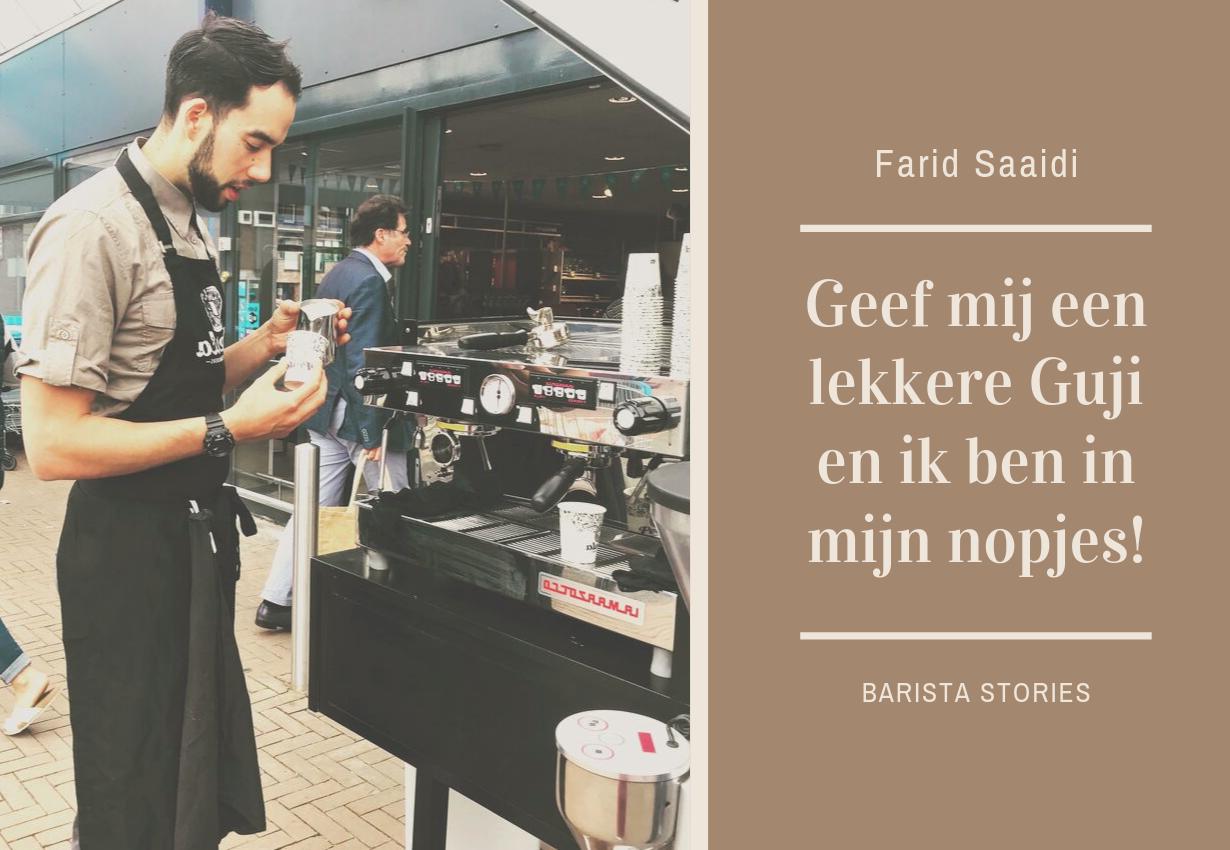 BARISTA STORIES - Farid Saaidi
